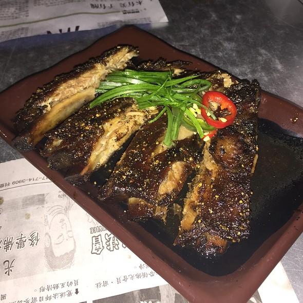 Tea-smoked Pork Spare Ribs @ Myers+Chang