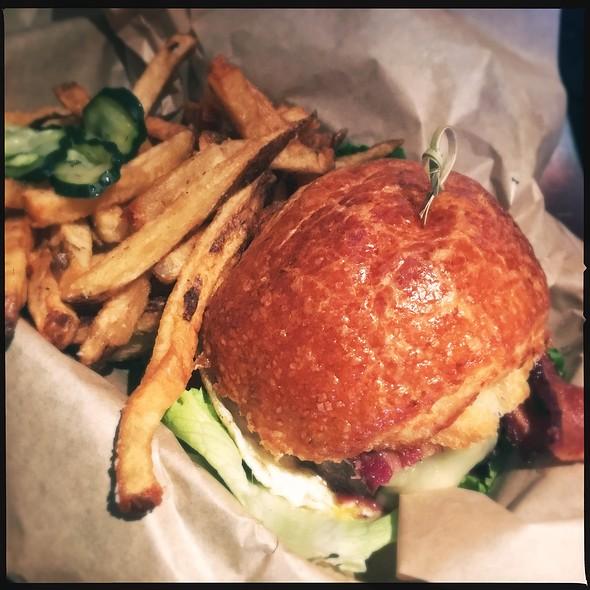 Breakfast Burger @ Highland Tap and Burger