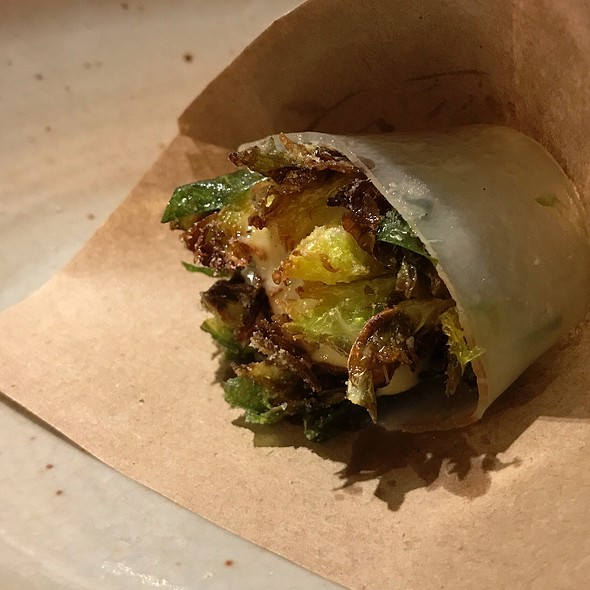 Brussel Sprout With Lardo