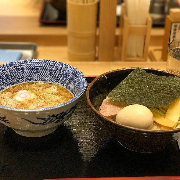 Tsukemen Ramen With Soft Boiled Egg