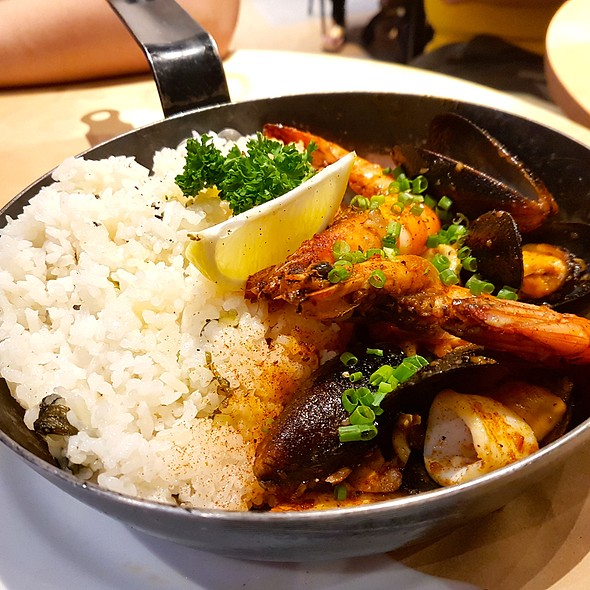 Seafood and Rice Skillet @ Providore