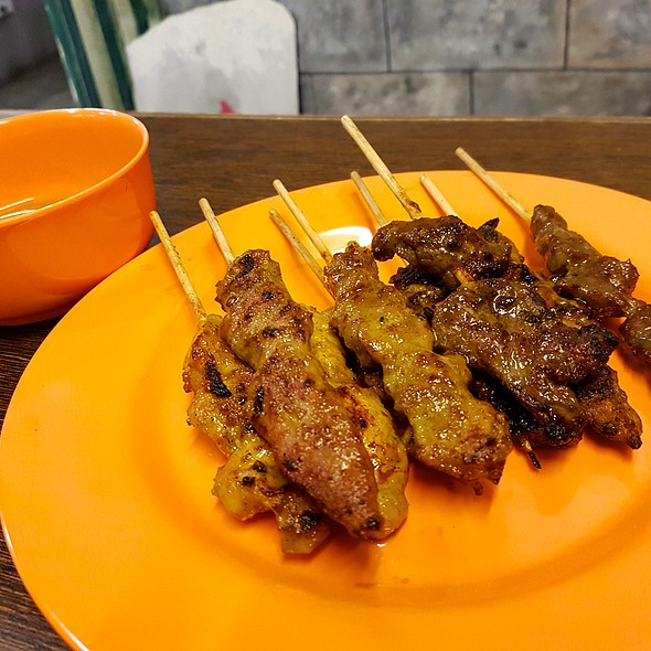 Satay Barbecue @ Shiok Shiok