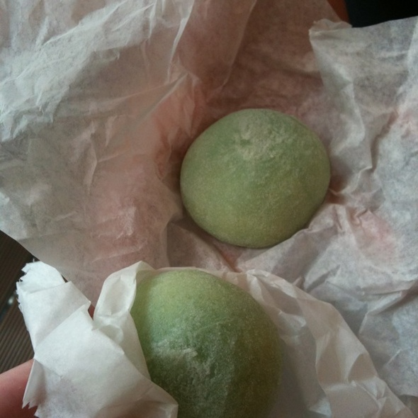 Green Tea Mochi