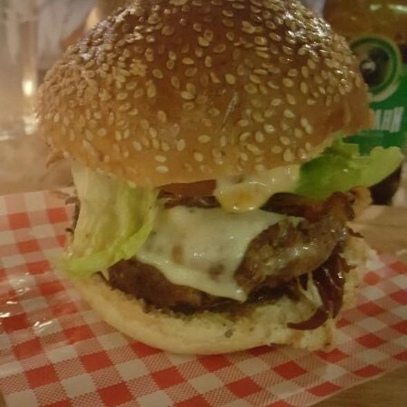 hamburguer @ Jamie's Italian