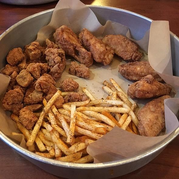 Chicken Basket @ Poorboy's Cajun Kitchen
