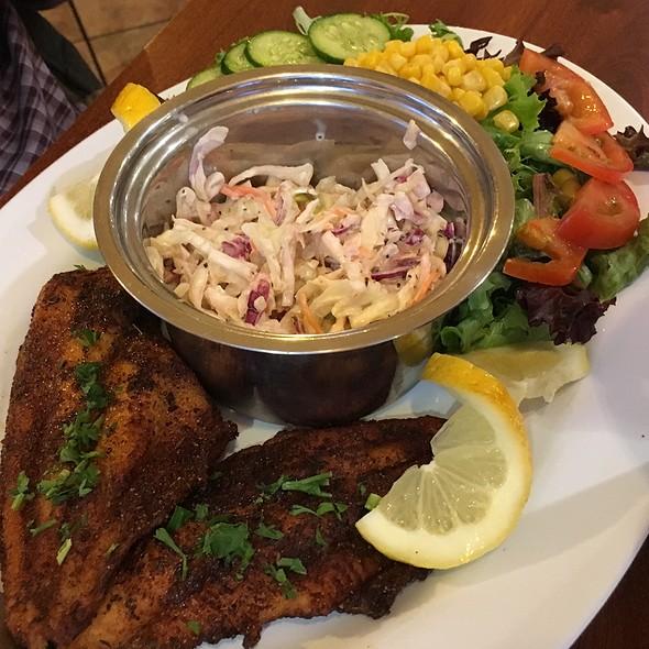 Catfish Entree @ Poorboy's Cajun Kitchen