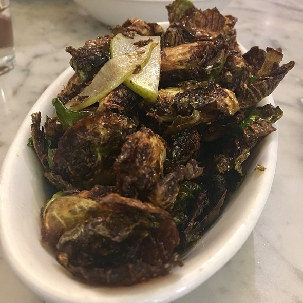 Crispy Brussels Sprouts @ Winslows Home