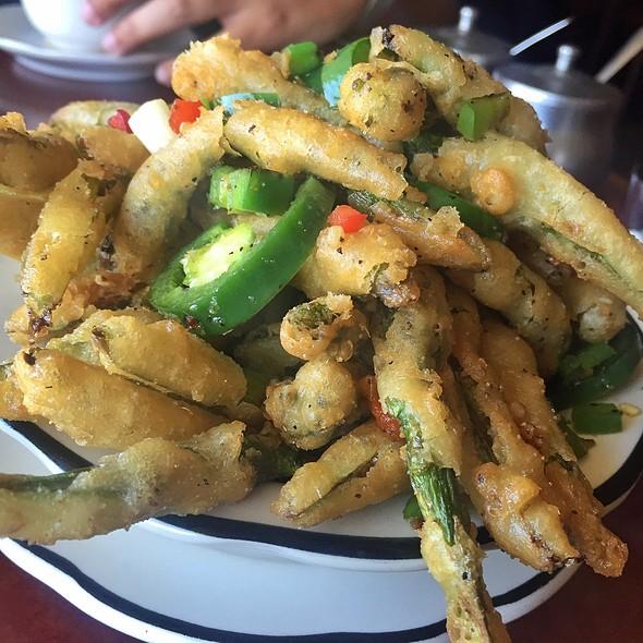 Fried Asparagus @ 369 Oriental Bistro
