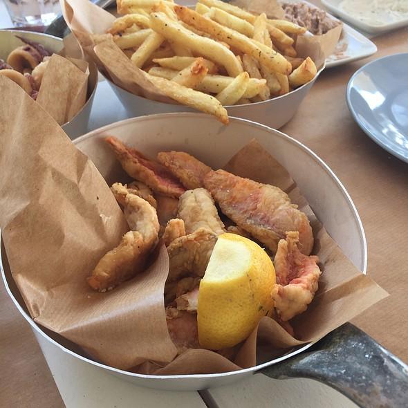 Pan Fried Mullet Fish Fillet @ Sardelaki Me Thea