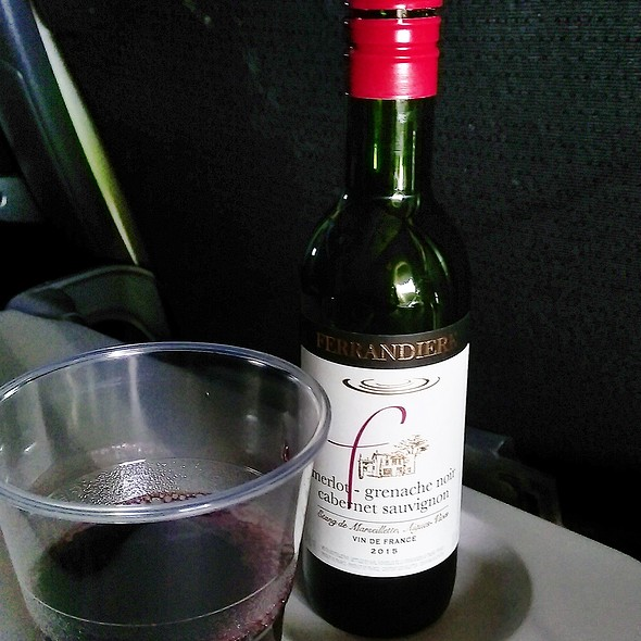 Red Wine - Cabernet Sauvignon @ Air Canada YYZ to HKG