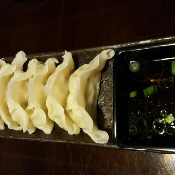 Vegetable Gyzoa @ Bento Box & Sushi