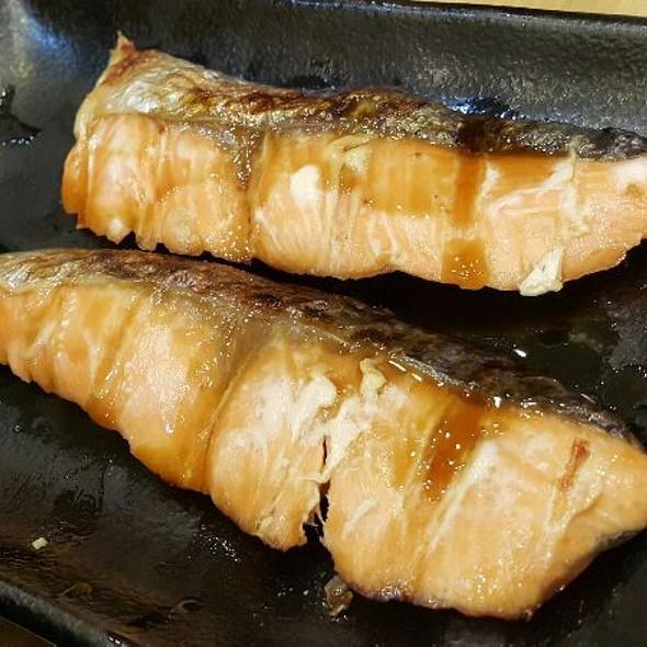 Grilled Salmon @ Shushi King Tebrau City JB