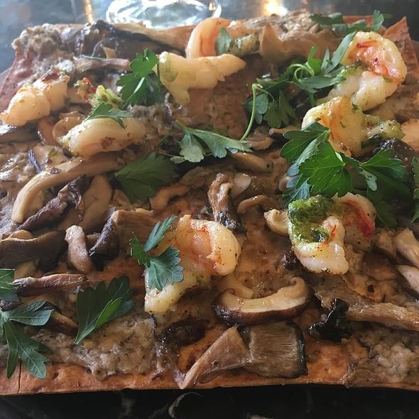 Tarte Aux Crevettes Et Champignons