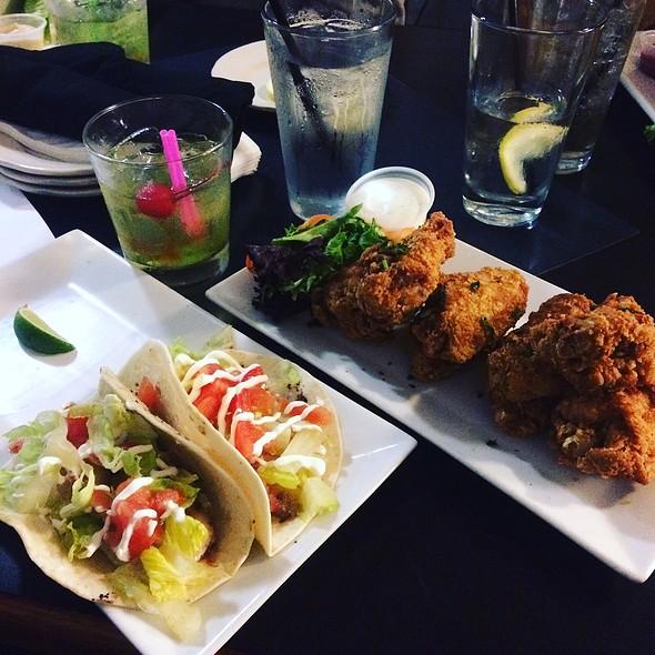Old Bay Wings & Fish Tacos
