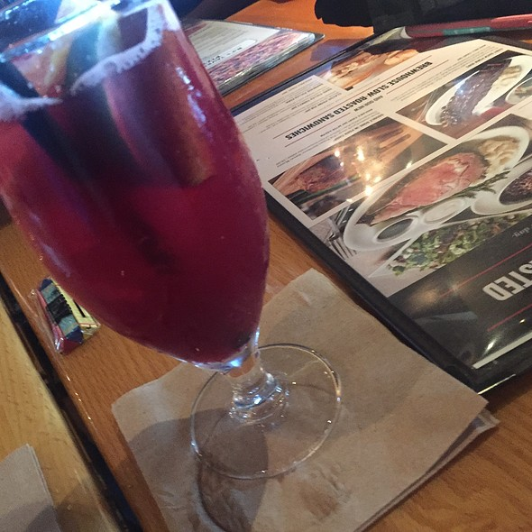 Blood Orange Pom Sangria @ BJ's Restaurant & Brewhouse