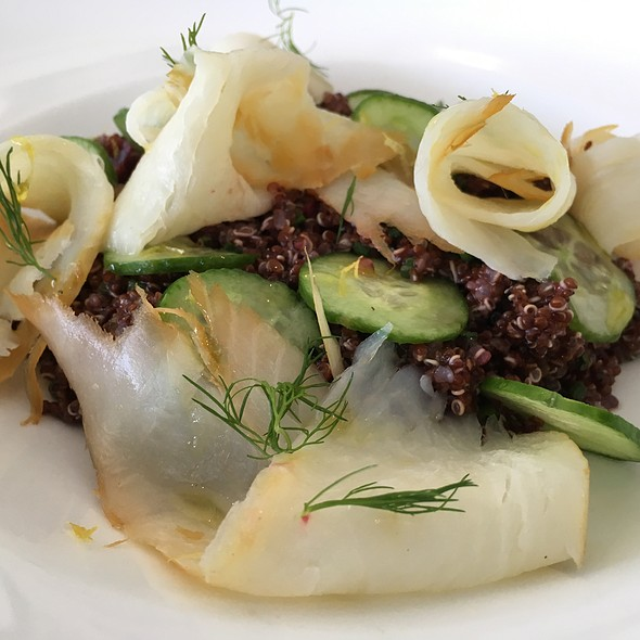Smoked Halibut Quinoa Salad