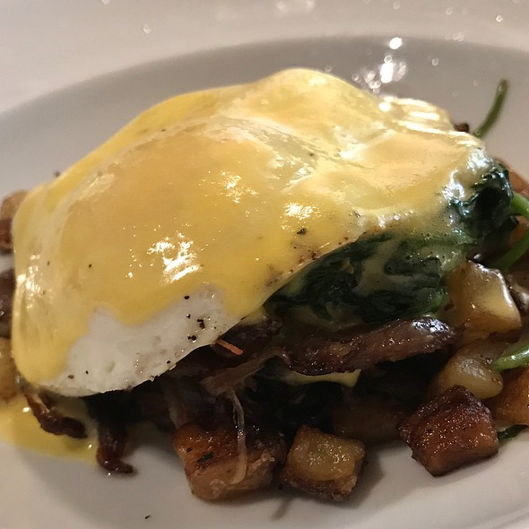 Duck Confit Hash With Eggs