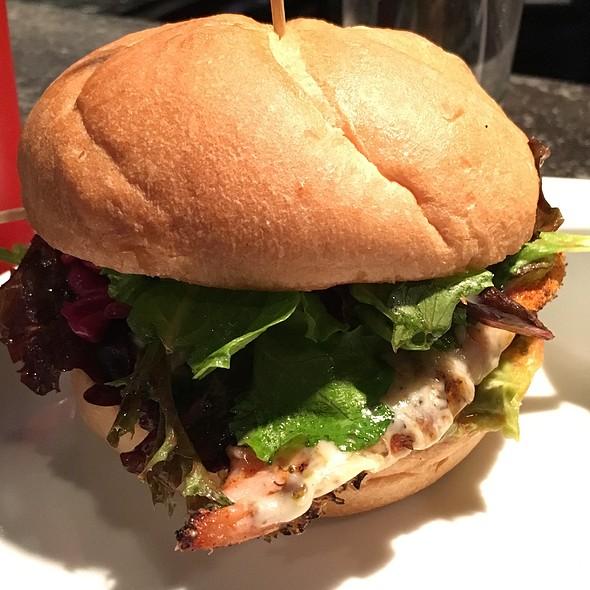 Raging Demon Chicken Burger @ EXP Bar