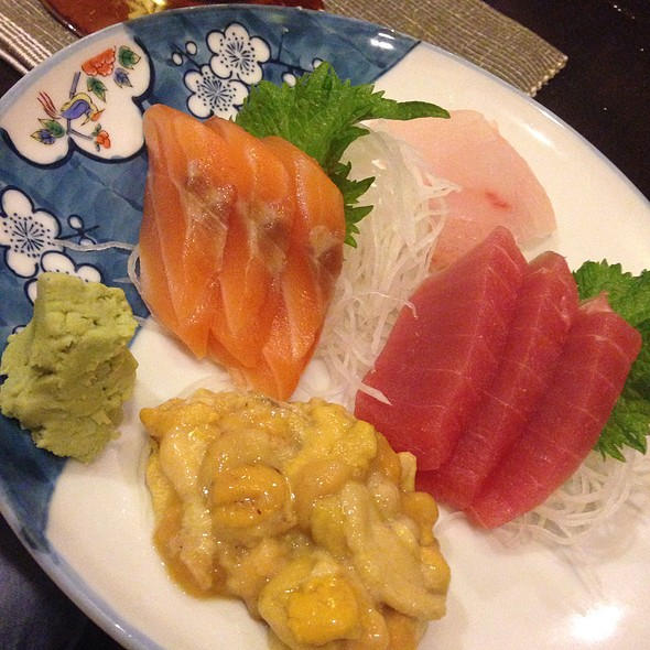 Sashimi Lunch Set @ Nodasho