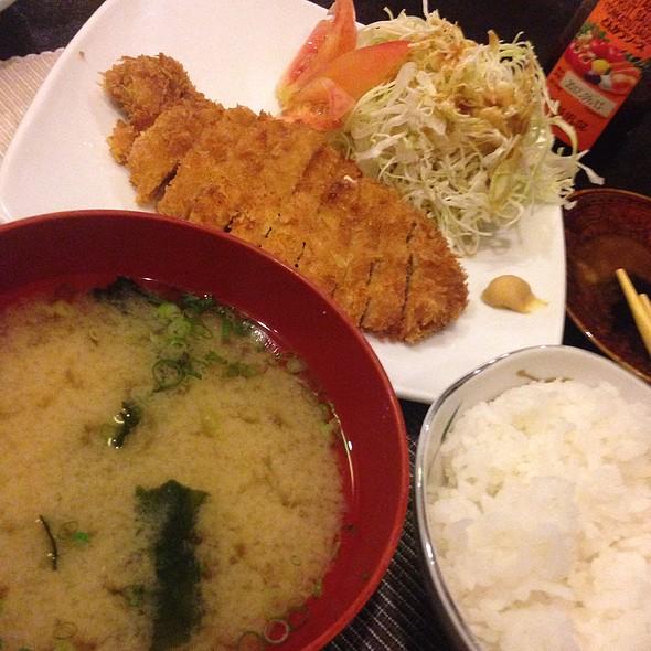 Pork Tonkatsu Set @ Nodasho