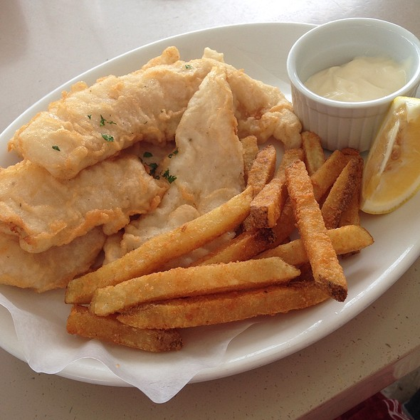 Fish and Chips @ Henann Resort Alona Beach, Bohol