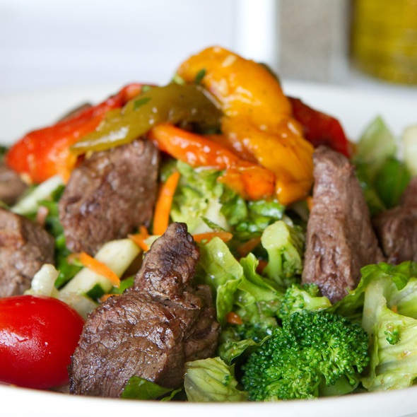Steak Salad - Volare West, Oakbrook Terrace, IL