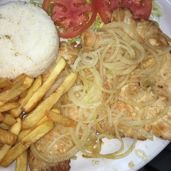 Cuban Chicken Steak