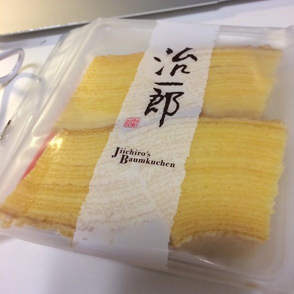 Baumkuchen @ 治一郎アトレ恵比寿店