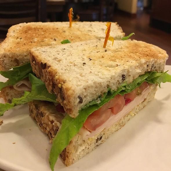 Turkey Sandwich @ Phoscao Cafe