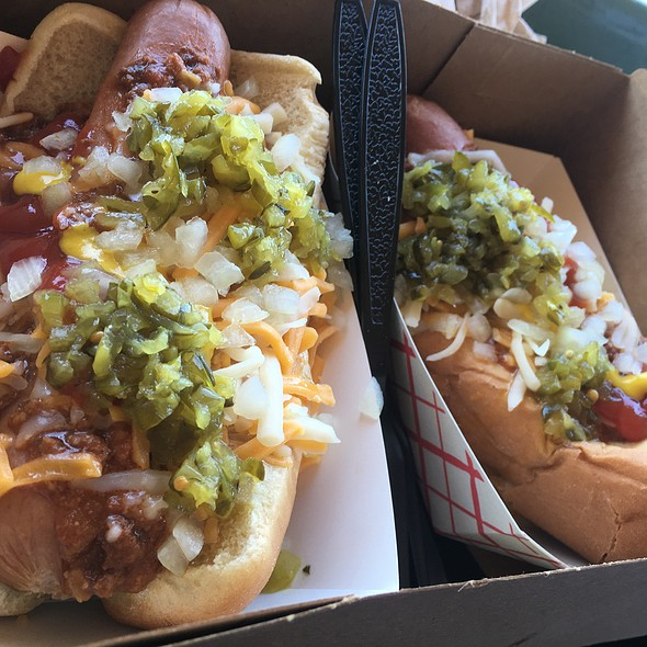 Chili Cheese Dogs Time! @ Santa Anita Race Track