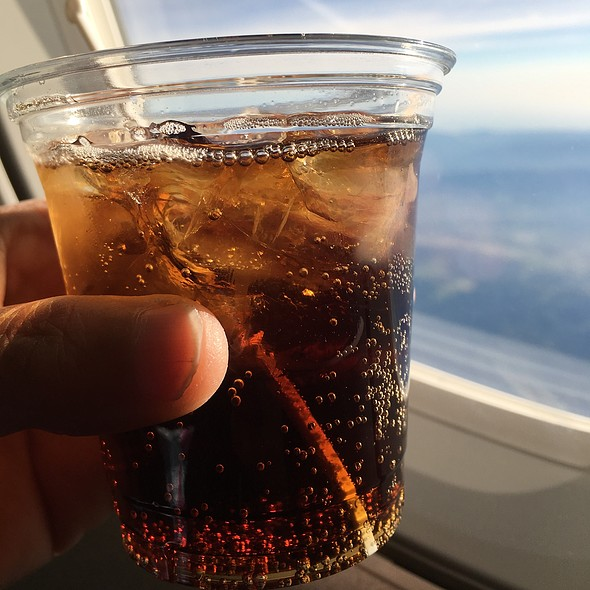 Jack and Coke @ Alaska Air First Class
