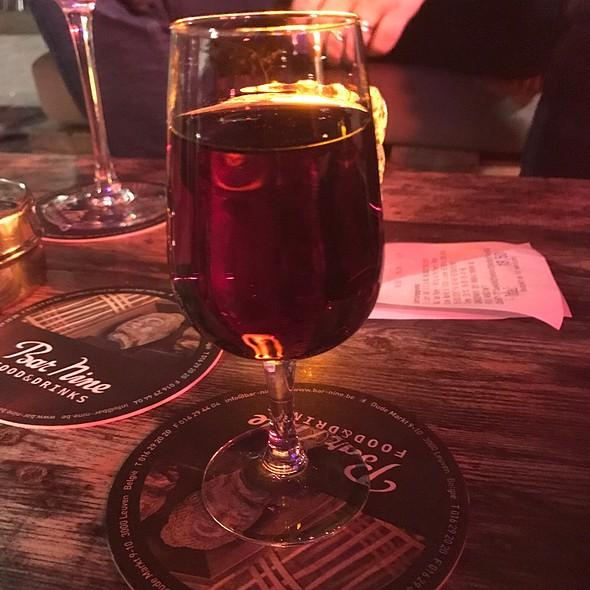 Red Porto Wine @ Bar Nine