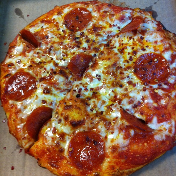 Pepperoni Pizza @ CIC Cafeteria - Charlotte, NC