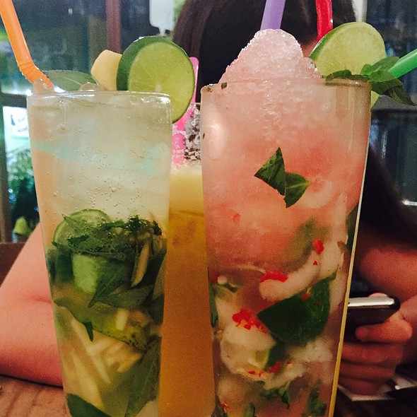 Crocodile Cocktail @ Jaan Bai