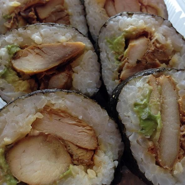 Chicken Teriyaki With Avocado
