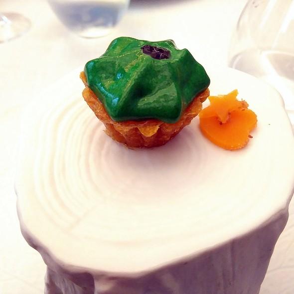 Quail Egg and Truffle Cupcake