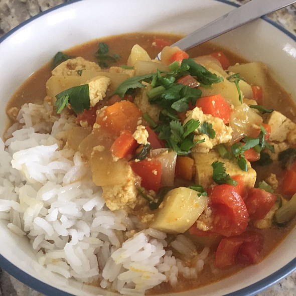 Bombay Curry Tofu @ Myplace