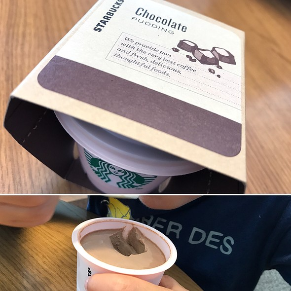 チョコレートプリン @ Starbucks Coffee Yamato文化森店