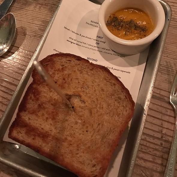 Butternut Squash Rye Bread