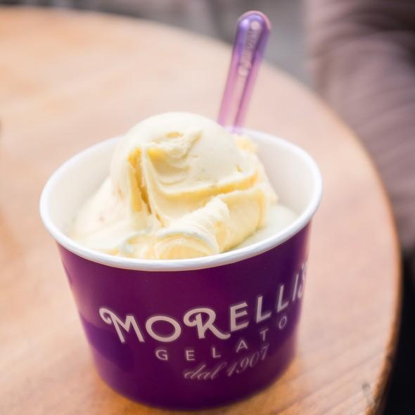 Mango Ice Cream @ Morelli's Gelato Dal 1907