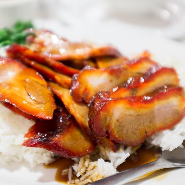 Char Sui on Rice @ Dumplings' Legend