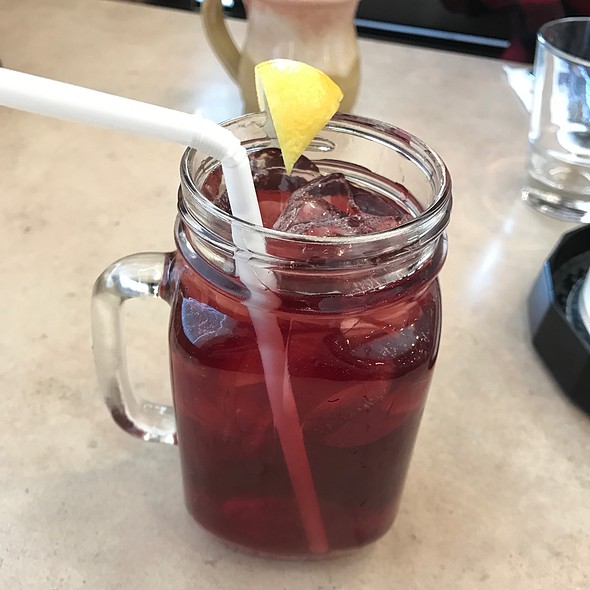 Blackberry Lavender Iced Tea