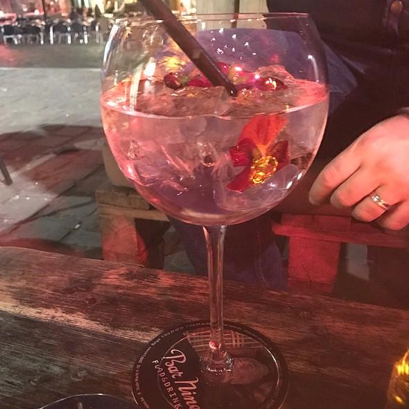 Gin With Rose Tonic @ Bar Nine