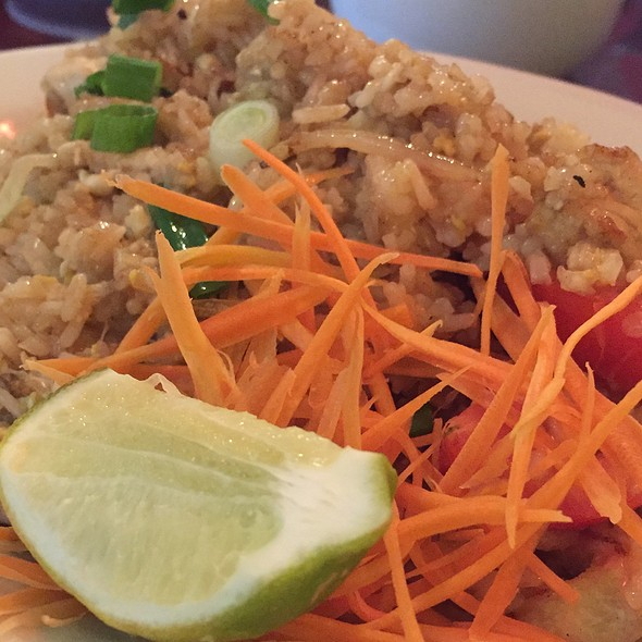 Thai Fried Rice @ Saeb Thai And Noodles