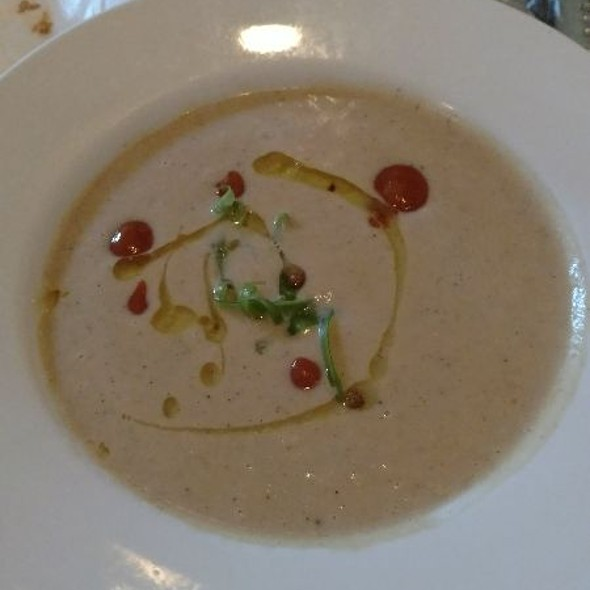 Brown Butter Parsnip Soup @ Bistro Campagne