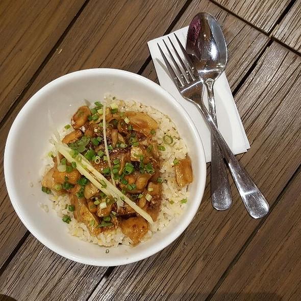 Salmon Teriyaki With Salted Egg Rice  @ Toast Asian Kitchen And Tasting Room