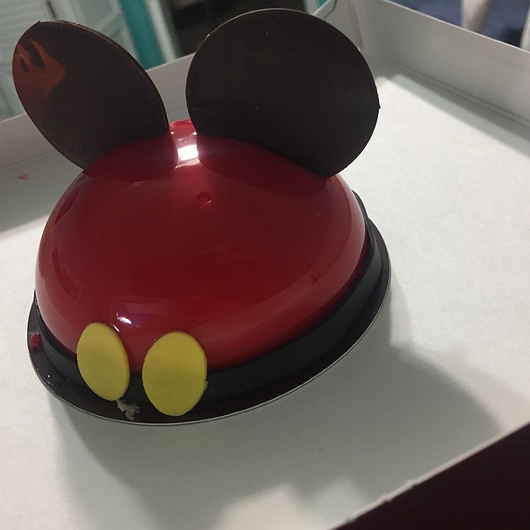 Mickey Mousse @ Amorette's Patisserie
