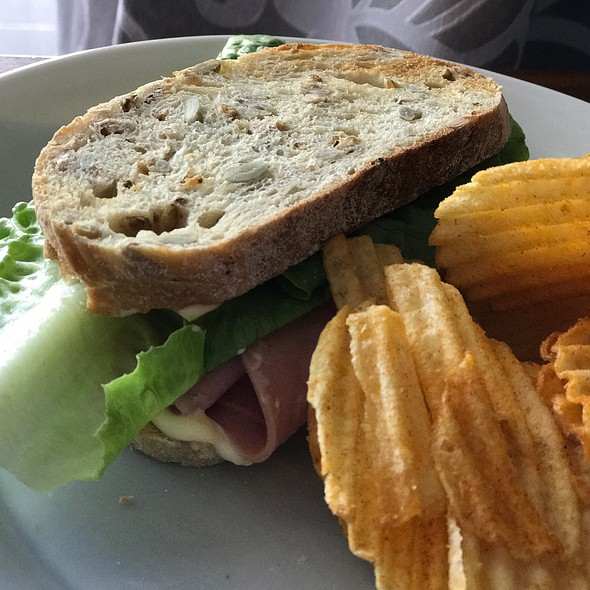 Ham And Lettuce Sandwich @ Chookys
