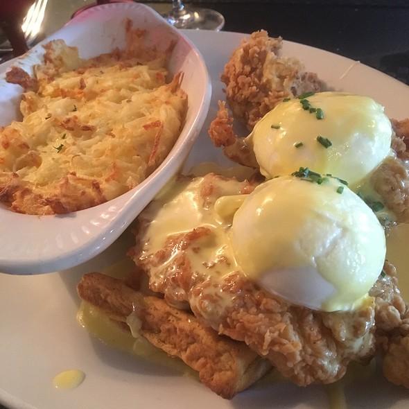Chicken & Waffles Benedict