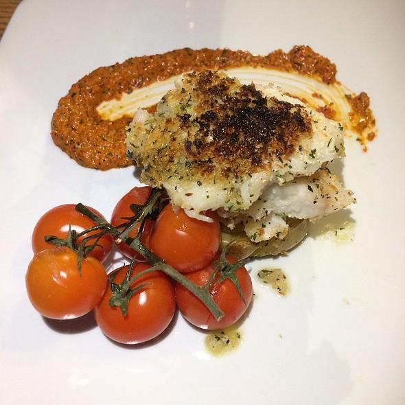 Parmesan & Herb-Crusted Haddock Filet